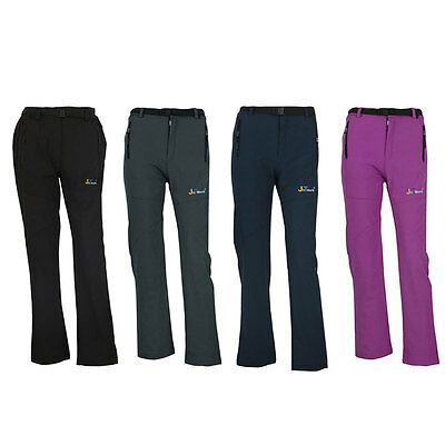 Women Waterproof Breathable Salopettes Snowboard Hiking Snow Ski Trousers Pants