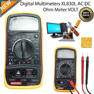 Digital Multimeter Voltmeter Ammeter AC DC Meter Circuit Voltage Tester Buzzer
