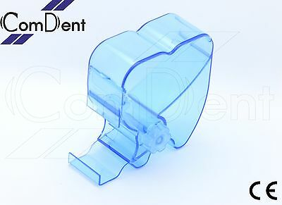 Dental One Touch Cotton Wool Roll Holder Dispenser Rolling Type Blue Color CE