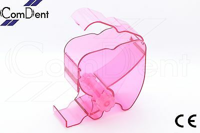 Dental One Touch Cotton Wool Roll Holder Dispenser Rolling Type Pink Color CE