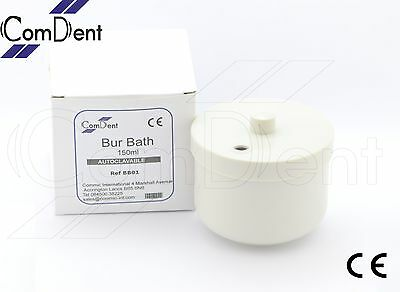 Bur Bath 150ml with Removable Inner Basket & Lid Manual Cleaning of Burs
