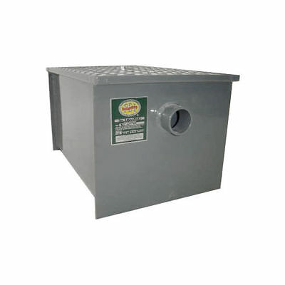 L&J Commerical Grade Kitchen Carbon Steel Grease Trap 8 lb PDI Approved