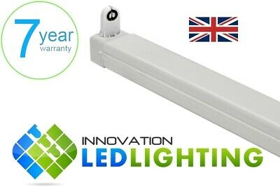 LED T8 2ft 4ft 5ft Single Batten Fitting Fixture - with or without LED tube