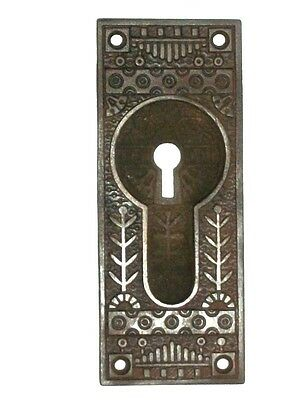 "Antique Eastlake Pocket Door Pull 5 5/16"" x 2 1/8"""