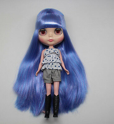 """12/"""" Neo Nude  Mixed-Color hair Blythe doll From Factory  JSW53010"""
