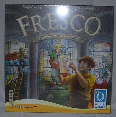 """Fresco Board Game Expansion By Queen Games New Sealed """"Other"""""""