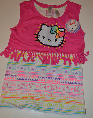 Hello Kitty  Girls 2 fer Pop Over   Size XS 4/5 S 6/6X M 7 /8 L10/12  NWT