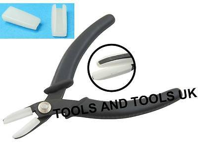 Double Nylon Jaw Flat Nose Pliers Jewellery Making Wires Crafts Tool+ Extra Jaws