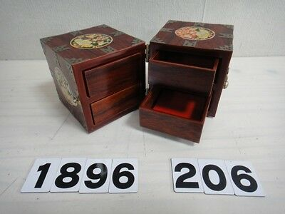 Asian Wooden Case Accessory Box Drawer Box Beautiful Style