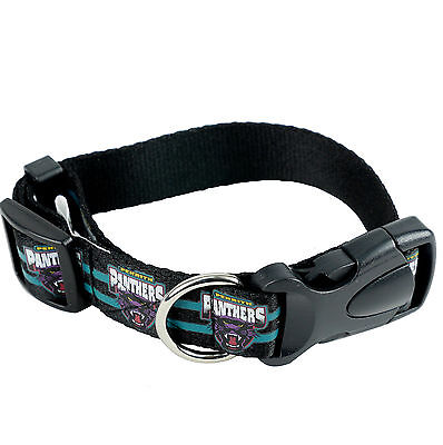 NRL Penrith Panthers Large DOG COLLAR - Love your team!