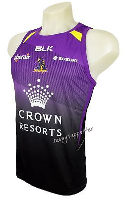 Melbourne Storm NRL Purple Training Singlet 'Select Size' S-7XL BNWT5