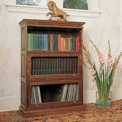 Barrister's Bookcase Plan - Media   Woodworking Plans   Indoor Project Plans