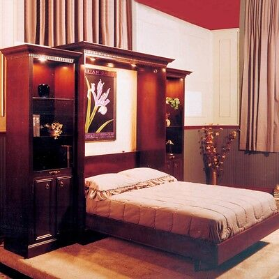 Bookcase System Plan for Murphy Bed  - Media   Woodworking Plans   Indoor Pro...
