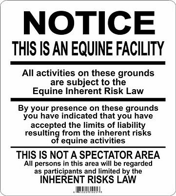 Supplemental  Equine Signs