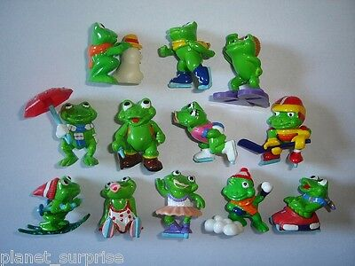 Kinder Surprise Set - Ranopla Frosty Frogs 1993 - Figures Collectibles