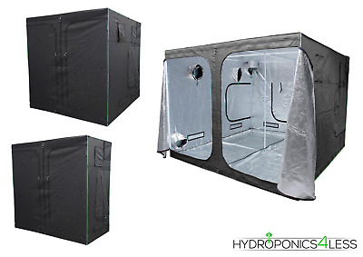 LIGHTHOUSE MAX Portable Grow Tent Green Room Silver Mylar Hydroponics Carbon