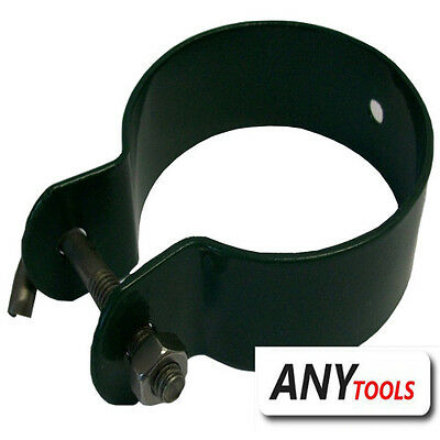 Hook clamp green for Tension bar 60mm