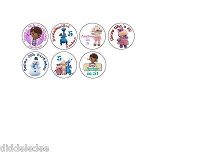 108 Doc McStuffins Hershey Kiss Labels Stickers Party Favors Personalize  ANY OK