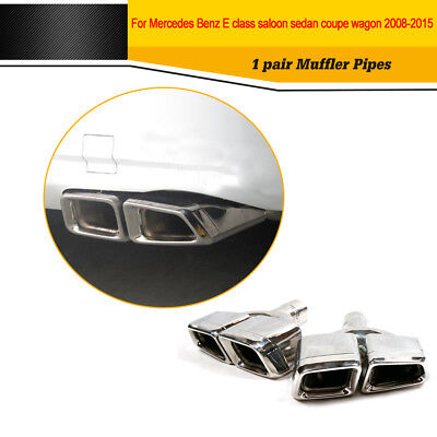 Exhaust Muffler Tips AMG Style Fit for Mercedes Benz W212 W204 W207 W211 W221