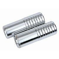 2x BMX Steel Foot PEGS to suit 14mm Axles 38mm x 102mm PAIR CHROME AC0850