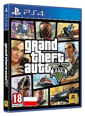 Grand Theft Auto V GTA 5 PS4 PL Polnisch Polska Polish version NEW NEU OVP