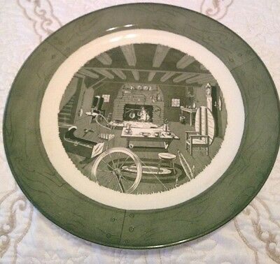 "Beautiful 13 1/2"" Colonial Homestead By Royal Platter Very Nice!"