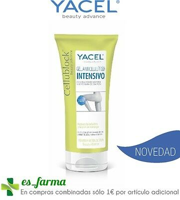 Yacel Cellu-Block Celulitis Anticelulitico Intensivo 200Ml Cafeina Te Carnitina