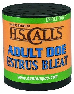New Authentic Hunter's Specialties Adult Doe Estrus Bleat Deer Calls 167