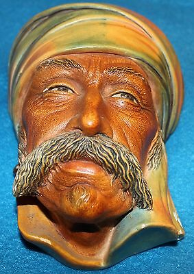 "Vintage Bosson Chalkware Head -- ""Albanian"" from 1959"