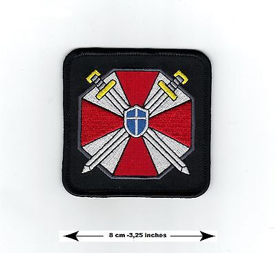Resident Evil The Umbrella Corporation Code Of Arms - Iron on Badge Patch