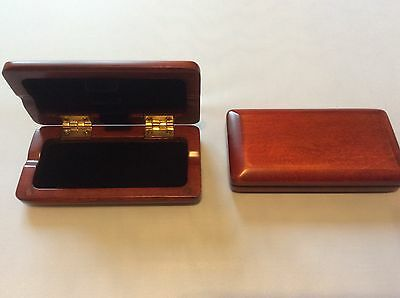 Oboe reed case for3 reeds  ( deep red, new )