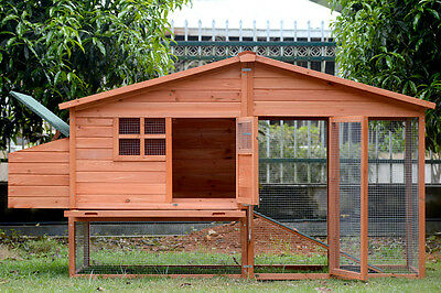 Brand New X-Large Chicken Coop Rabbit Guinea Pig Hutch Ferret Hen House