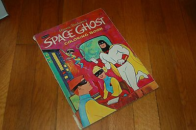 Hanna-Barbera Space Ghost Vintage Coloring Book- RARE! 1967