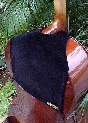 Cellos Musical Instruments & Gear Elegant Black Velvet Cellobib With Handy Pocket For Necessities