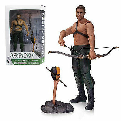 DC Collectibles OLIVER QUEEN With Totem Action Figure Arrow TV Series BNIB