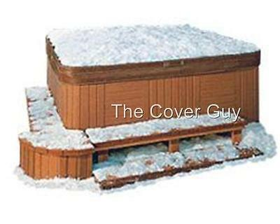 "Extreme 6"" tapered Spa Hot Tub Cover Custom Factory Made R24 7 yr warranty"