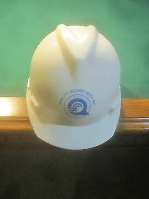 "CONRAIL ""Quality Begins With Me"" HARD HAT MEDIUM WHITE 1997"