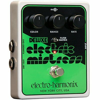 Electro-Harmonix Deluxe Electric Mistress XO Analog Flanger Guitar Effects Pedal