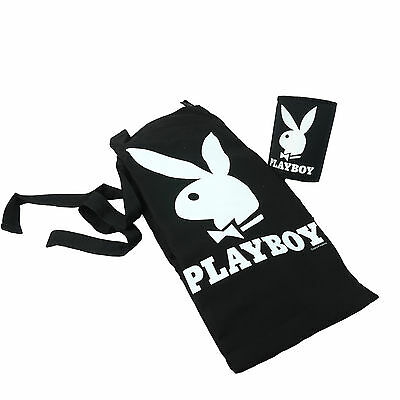 Playboy Bunny APRON & STUBBY HOLDER GIFT PACK - Beer Bar BBQ Can Cooler