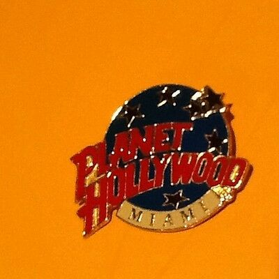 Hardrock Planet Hollywood Miami Back Reads DTC Twain Brooch