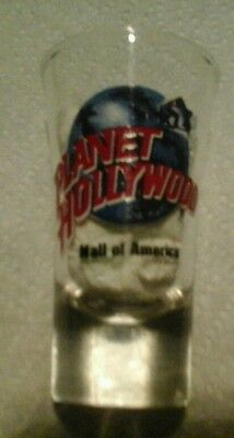 PLANET HOLLYWOOD MALL OF AMERICA SHOT GLASS