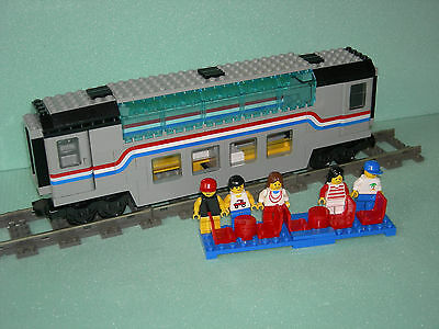 LEGO TRAIN 4547/10002 Railroad  Club Car !!!