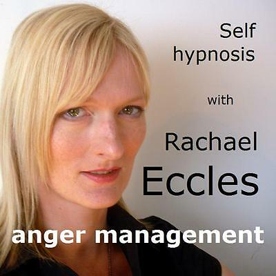 Anger Management Control Anger Hypnosis Hypnotherapy CD, Rachael Eccles
