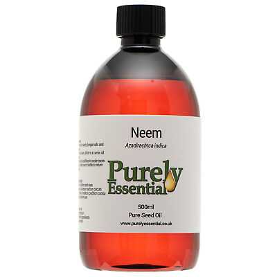 Neem Seed Oil Pure Natural Oil Fungal Toe Nails 10ml 50ml 100ml 500ml V.Pungent!