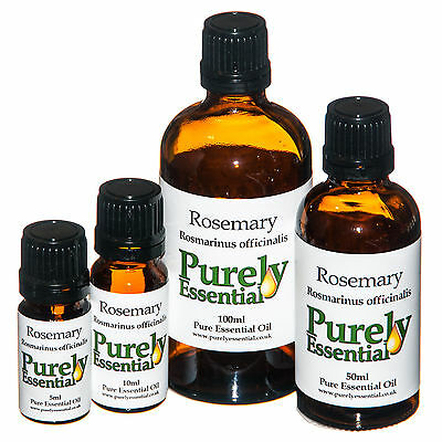 Rosemary Essential Oil 5ml 10ml 50ml 100ml 100% Pure & Natural, Purely Essential