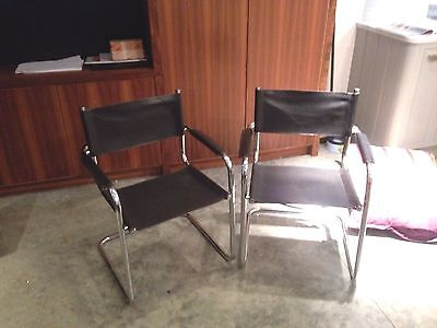 A Pair Of Chrome Chairs