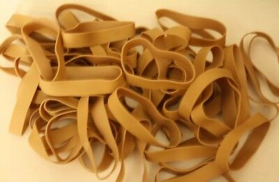 50 Rubber Bands by Sparco - Size #84 - 3 1/2 x 1/2 - Strong, Large, Wide
