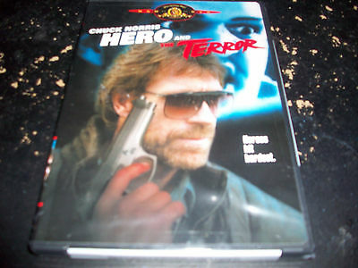 Chuck Norris: Hero & The Terror!! Brand New & Factory Sealed!! Out Of Print!!!!!