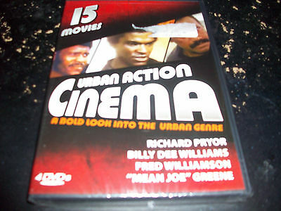 Urban Action Cinema: 15 Movies Of The Urban Genre!! Brand New & Factory Sealed!!