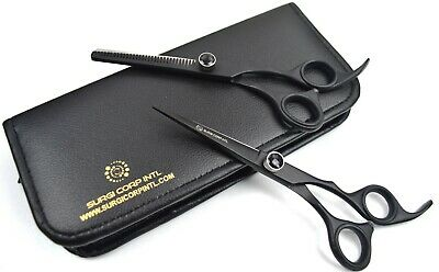 "Professional Barber Hairdressing thinning,Haircutting 6.5"" SET RAZOR SHARP MATT"